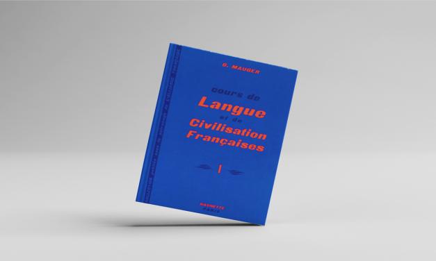 langue et civilisation française : livre